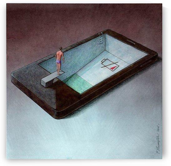 low battery by Pawel Kuczynski