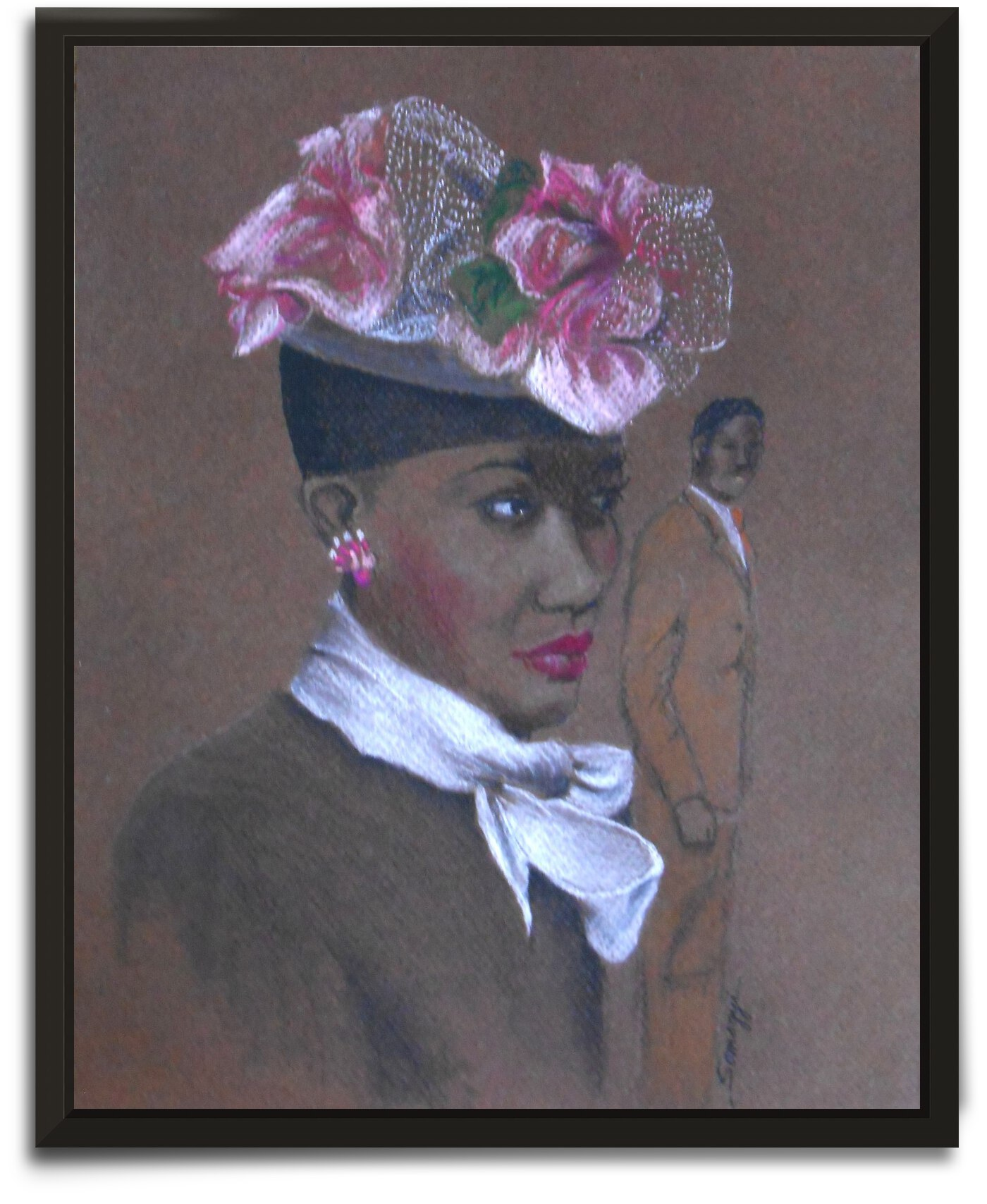 Admirer 1947 Easter Bonnet  by Jayne Somogy