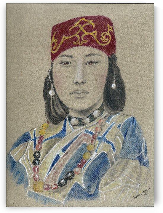 Ainu Woman by Jayne Somogy