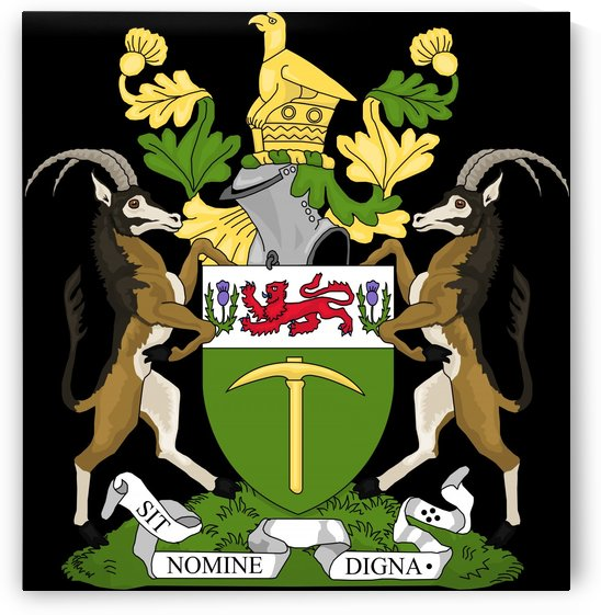 Zimbabwe Rhodesia Coat of Arms by Fun With Flags