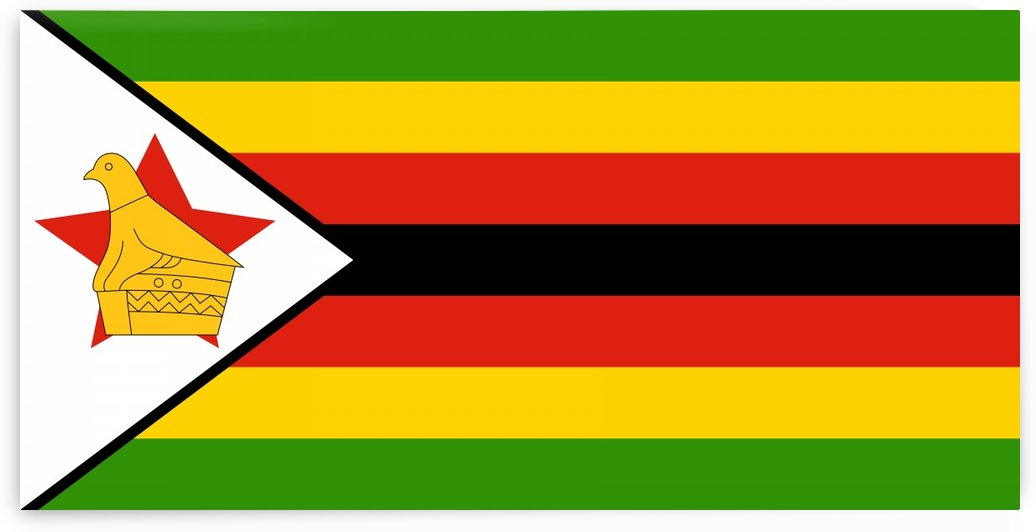 Zimbabwe Flag by Fun With Flags