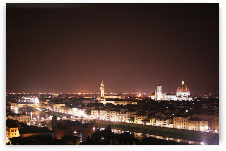 Florence skyline by Locspics