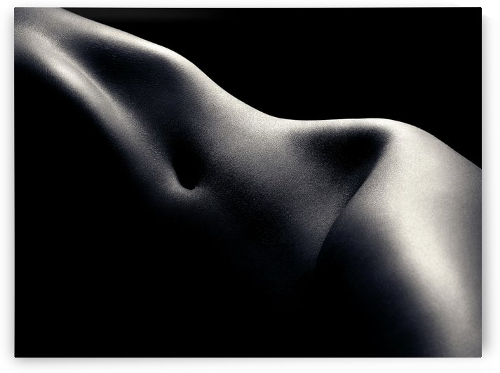 Nude woman bodyscape 52 by Johan Swanepoel