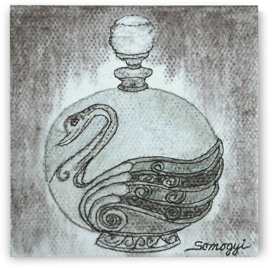 Bottled Gray Swan by Jayne Somogy
