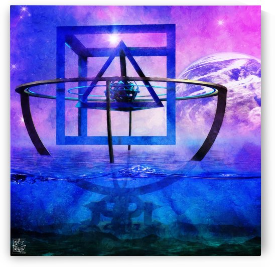 Mysterium Cosmographicum or The Cosmographic Mystery by ChrisHarrisArt