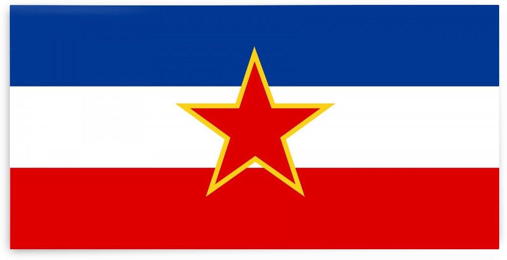 Flag of the Socialist Federal Republic of Yugoslavia 1945-1992 by Fun With Flags
