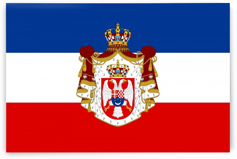 Flag of the Kingdom of Yugoslavia by Fun With Flags