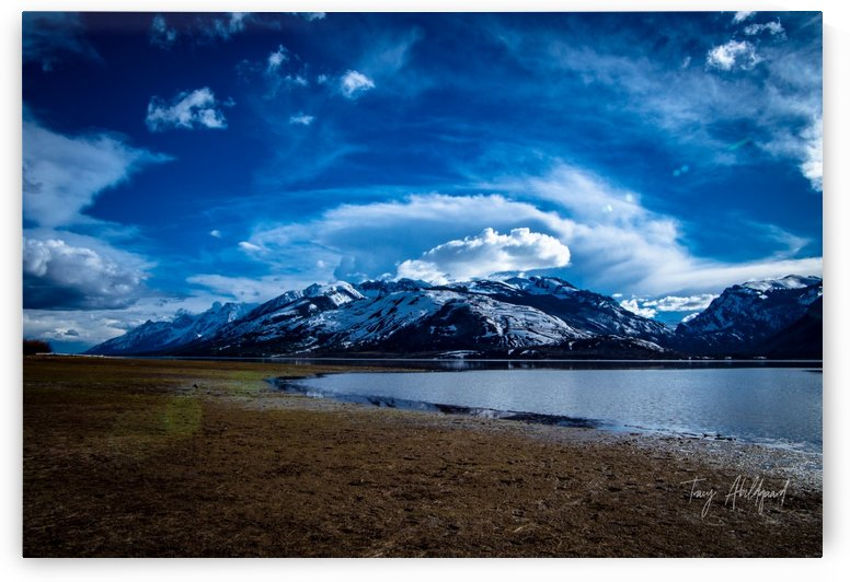 Tetons   Hi Res   A3 by Tracy Abildgaard