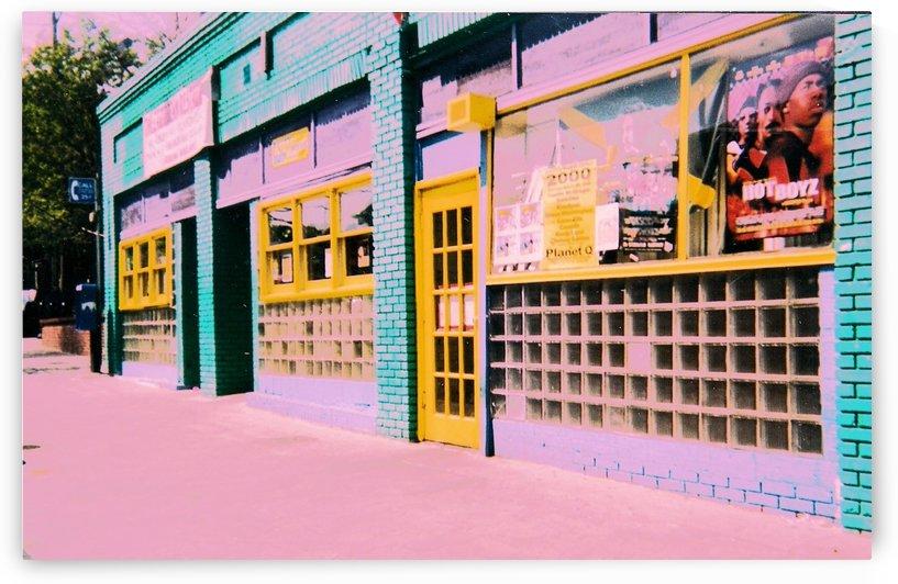 Atlanta Street Scene -- Modern Colors by Jayne Somogy