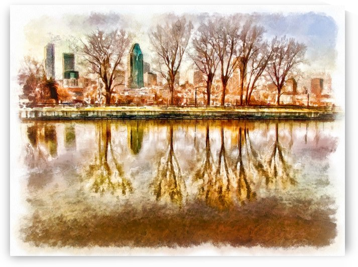 Montreal Reflections by Robert Knight