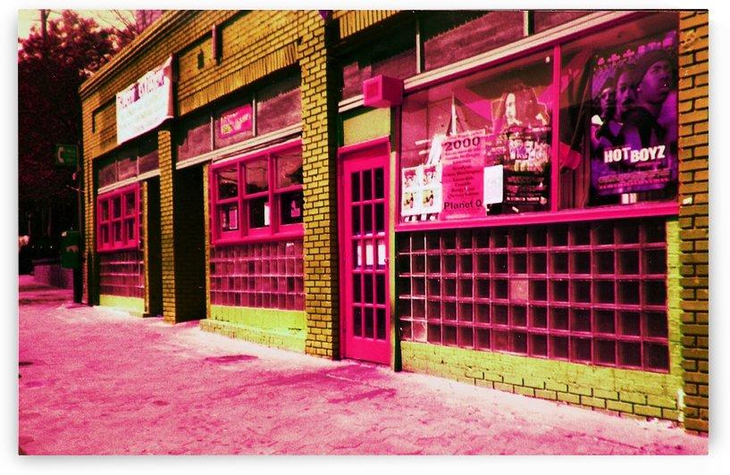 Atlanta Street Scene -- Red by Jayne Somogy