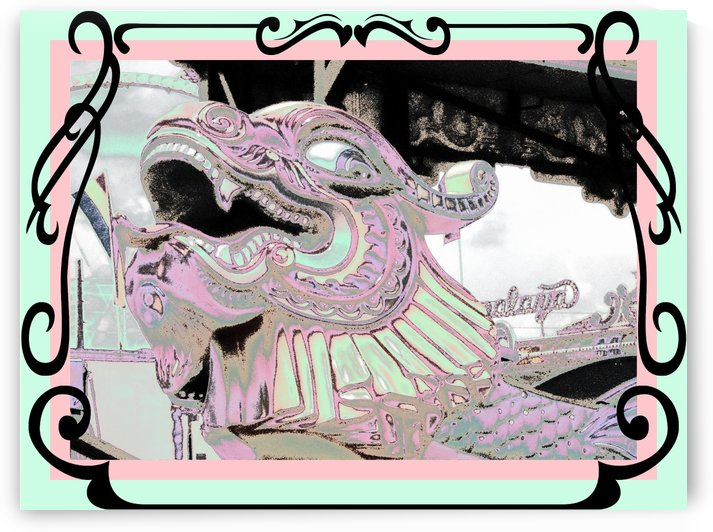 CARNIVAL CREATURE in PASTEL by Jayne Somogy