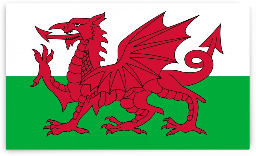 Wales Flag by Fun With Flags