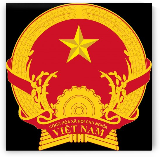 Vietnam Coat of Arms by Fun With Flags