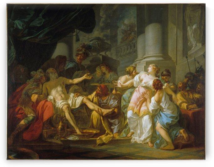La Mort de Seneque by Jacques-Louis David