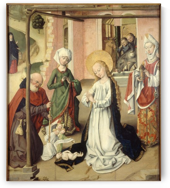 L Adoration de l Enfant by Saint Barthelemy