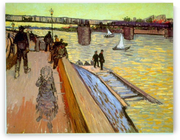 Bridge by Van Gogh by Van Gogh