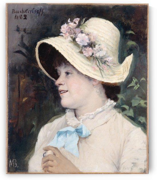 La Parisienne portrait d Irma modele a l Academie Julian by ashkirtseff, Marie