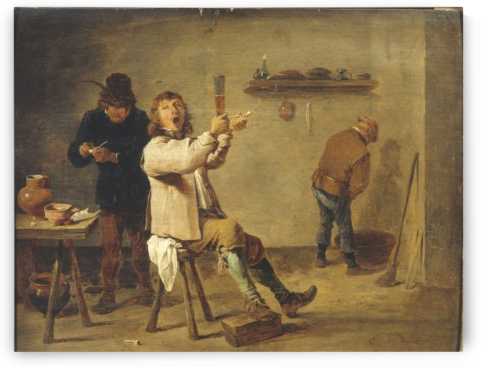La Chanson a boire by David II Teniers