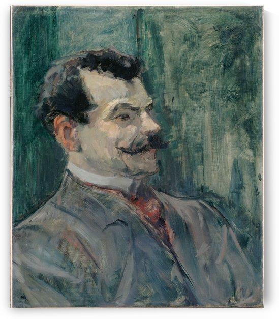 Portrait de Andre Rivoire by Henri de Toulouse-Lautrec