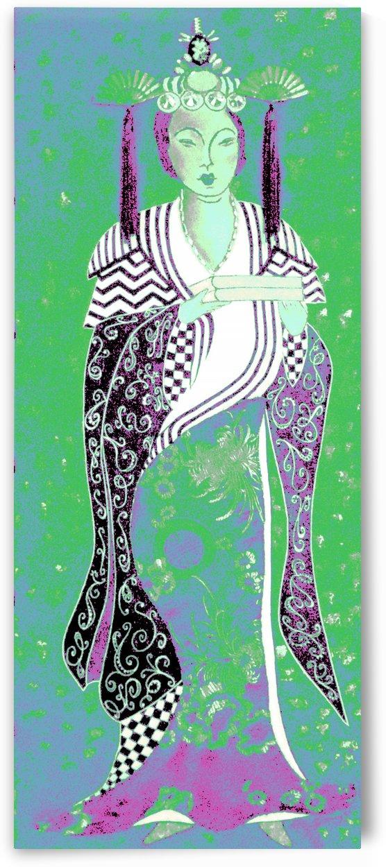 RÚ--in Green by Jayne Somogy