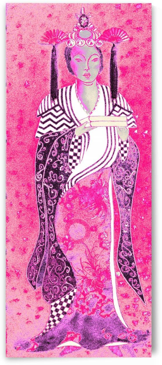RÚ--in Hot Pink by Jayne Somogy