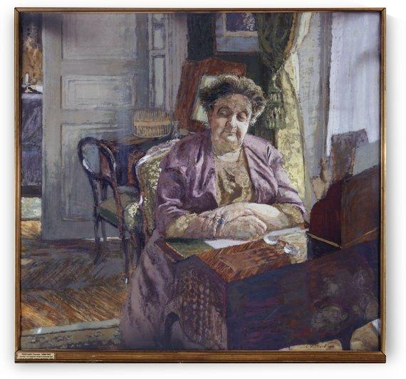 Portrait de Madame Frantz Jourdain by Edouard Vuillard