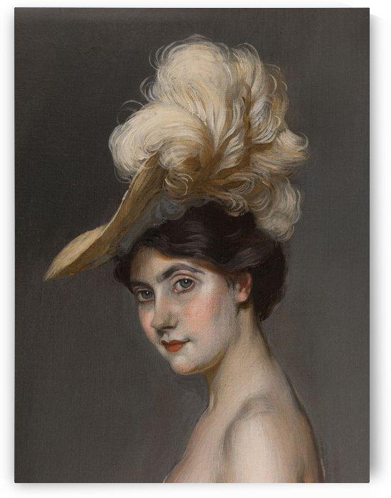 Portrait de madame Rene Prejelan by Antonio de La Gandara