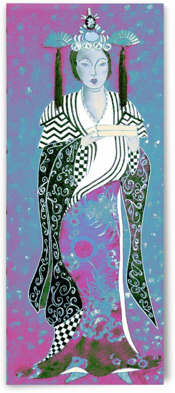 RÚ--in Turquoise by Jayne Somogy