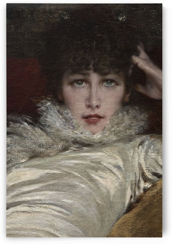 Portrait de Sarah Bernhardt by Georges Jules Victor Clairin