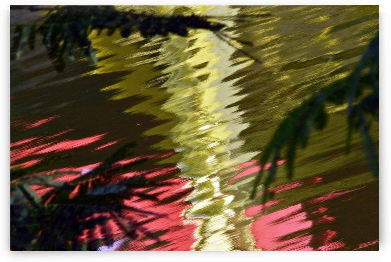 Reflection of a bridge by Rizal Ghazali