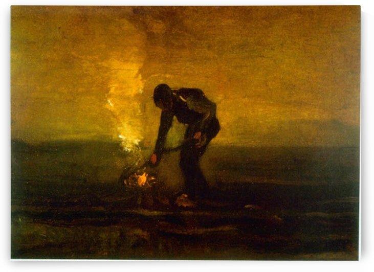 Burning Weeds by Van Gogh by Van Gogh