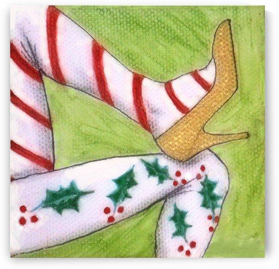 Christmas Legs by Jayne Somogy