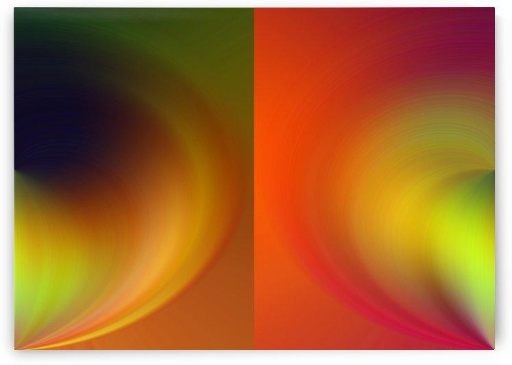 Split Heart Abstraction by Rizal Ghazali
