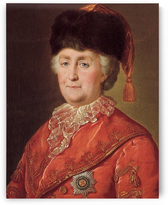 Empress Catherine The Great by Mikhail Shibanov