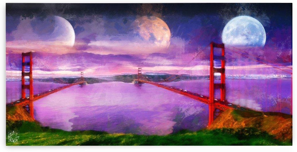 New Golden Gate by ChrisHarrisArt