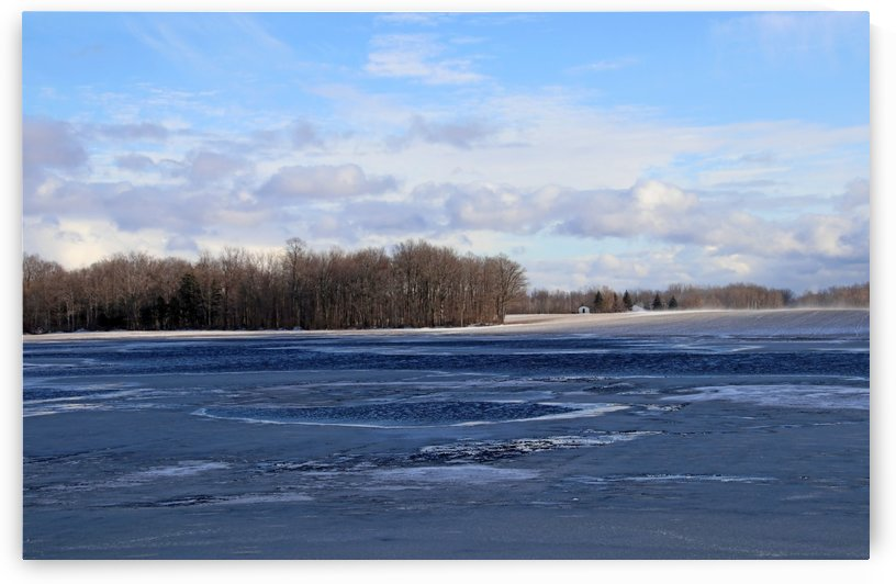 Unpredictable Canadian Winter by Deb Oppermann