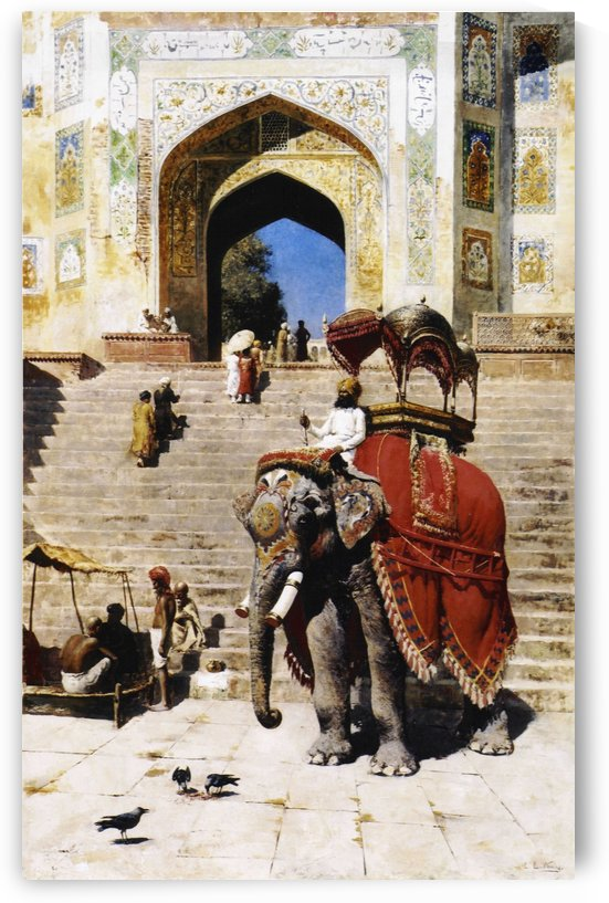 Royal Elephant by Edwin Lord Weeks