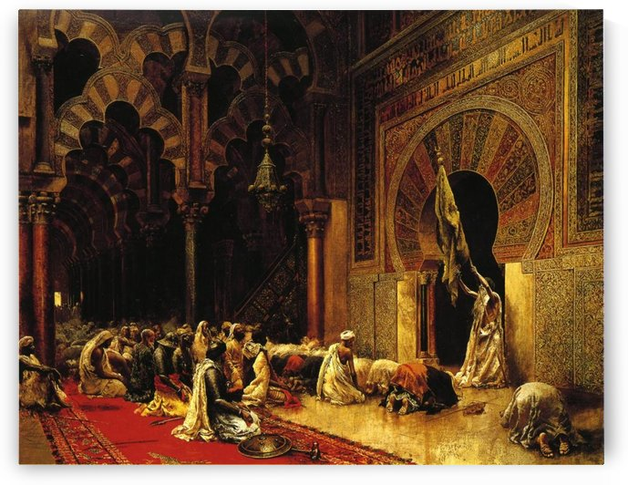 Interior of the Mosque at Cordova by Edwin Lord Weeks