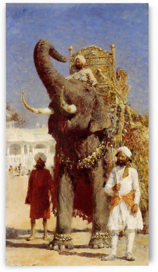 The Rajahs Elephant by Edwin Lord Weeks