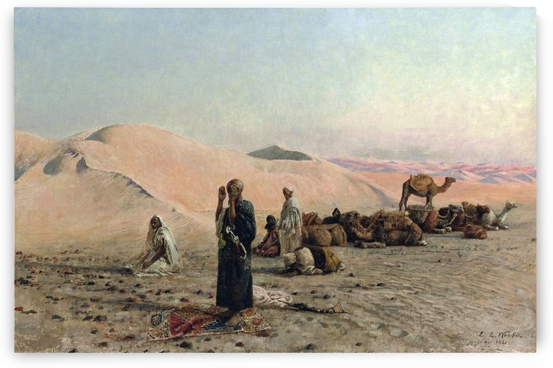 Desert Prayer by Edwin Lord Weeks