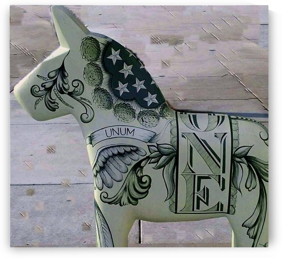 Money Horse by Natures Alchemy Captured