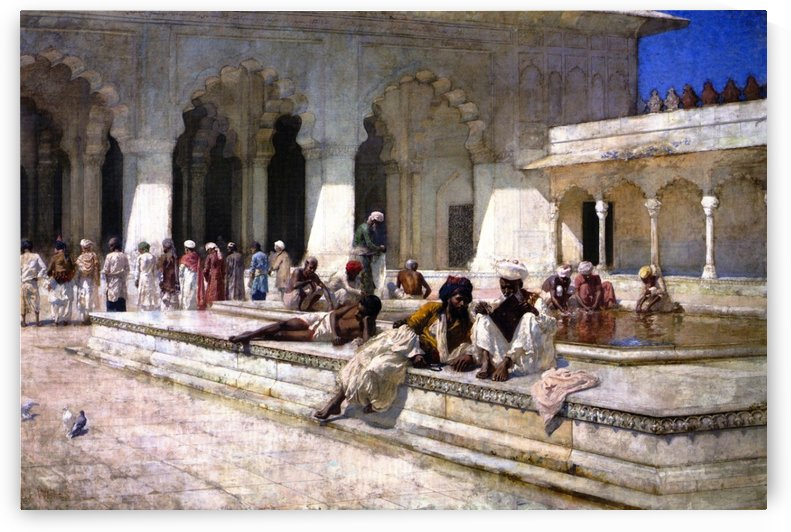 The Hour of Prayer at Moti Mushid by Edwin Lord Weeks