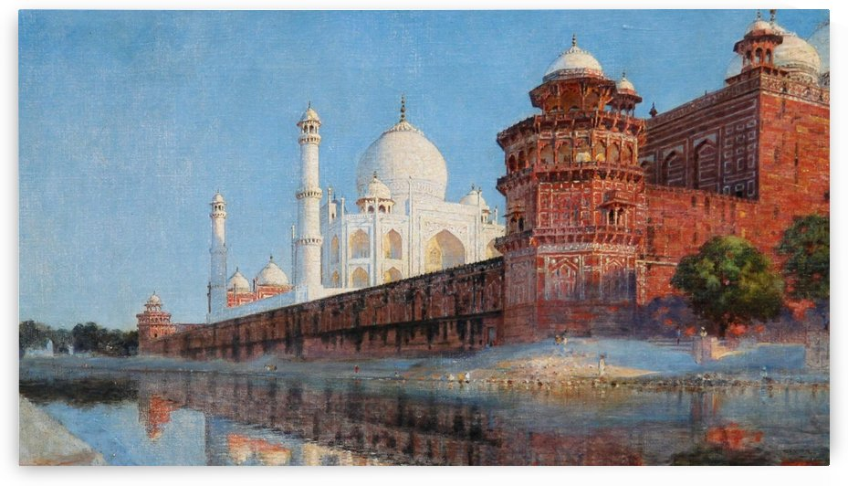 View of Taj Mahal by Edwin Lord Weeks