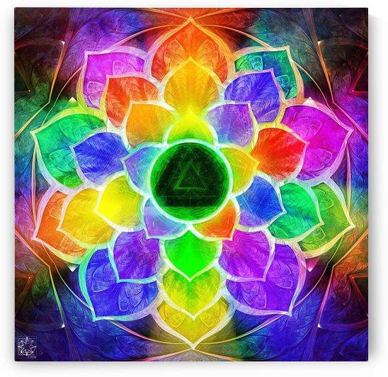 Kūṭasthapuṇḍarīka or Soul Lotus Flower by ChrisHarrisArt