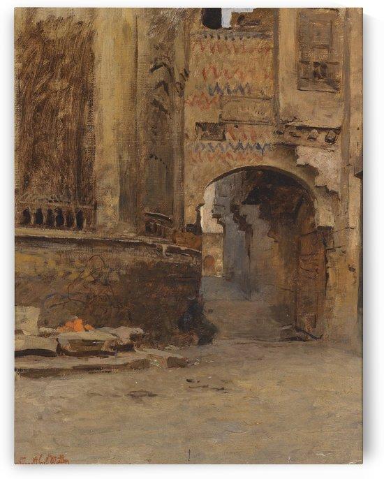 Torbogen in Kairo by Leopold Carl Muller