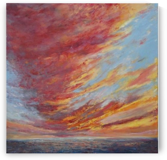 PASSIONATELY original skyscape painting by PASSIONATELY original skyscape painting