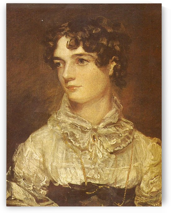 Portrait of a young woman by Leopold Carl Muller