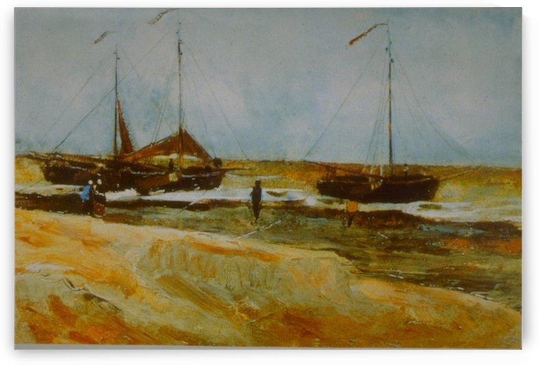Calm Weather by Van Gogh by Van Gogh