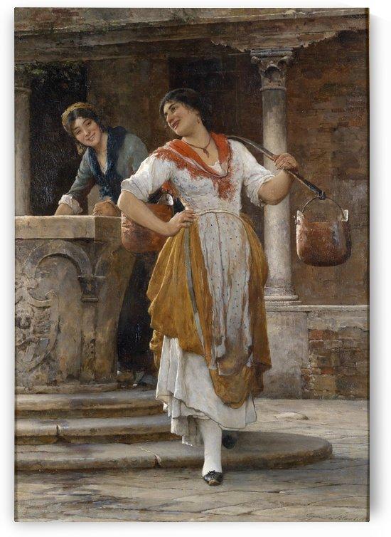 Die Wassertragerin by Eugene de Blaas